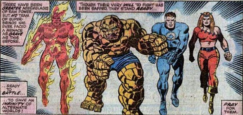 Fantastic Four 153-Worlds-In-Collision