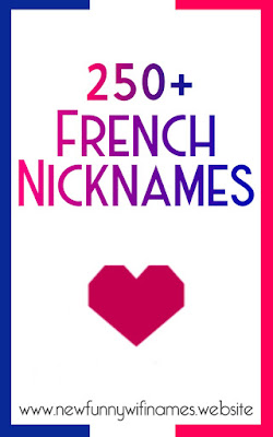 french nicknames