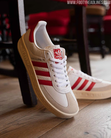 Adidas Originals Manchester United 'Barcelona 99' Sneaker