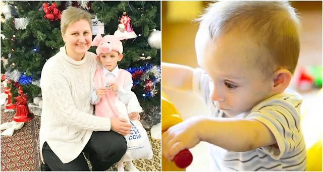 Год назад Наталья усыновила крошечного Андрюшу с пятой группой здоровья, а сейчас её уже сменили на третью