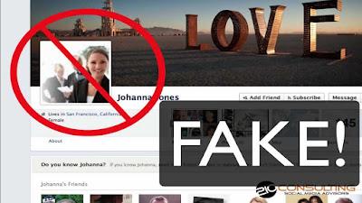 Facebook, Fake Facebook Profiles