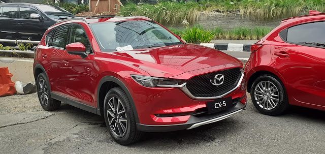 mazda cx5 facelift