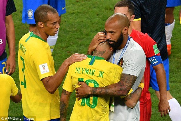 Neymar berduka