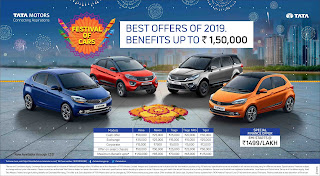 Tata motors announce festival of cars campaign