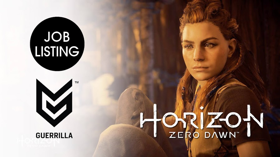 horizon zero dawn sequel ps5 job listing rumor guerrilla games