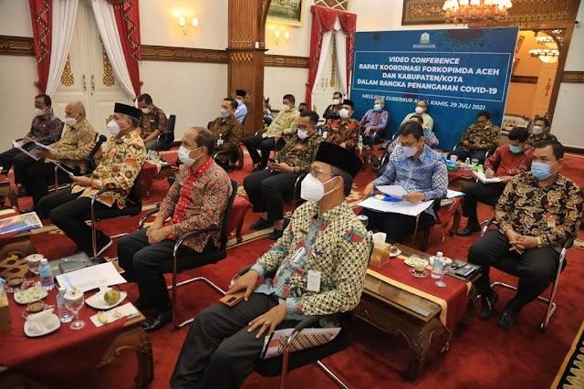 Rapat Bersama Bupati/Walikota se-Aceh, Ini Pesan Gubernur
