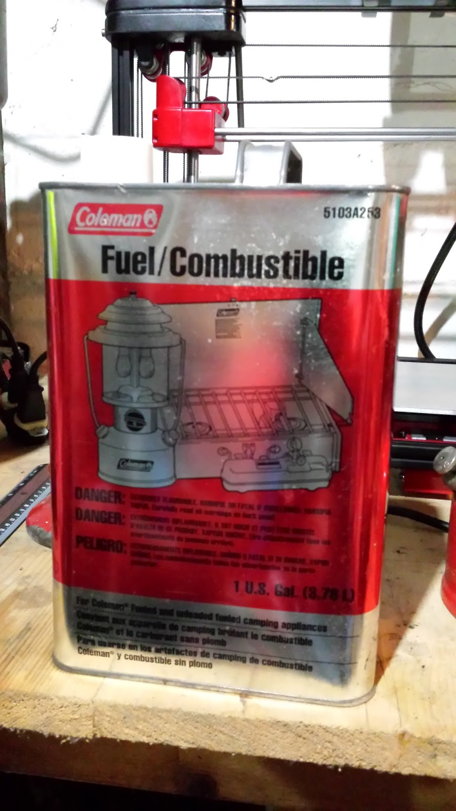 Can I Use Coleman Fuel As Paint Thinner