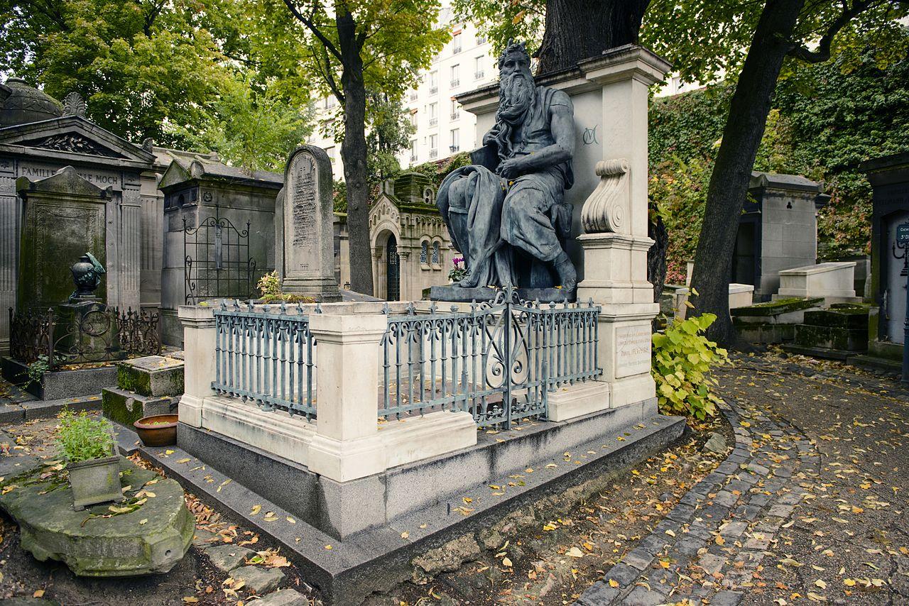 The Cemetery of Montmartre (Paris, France)