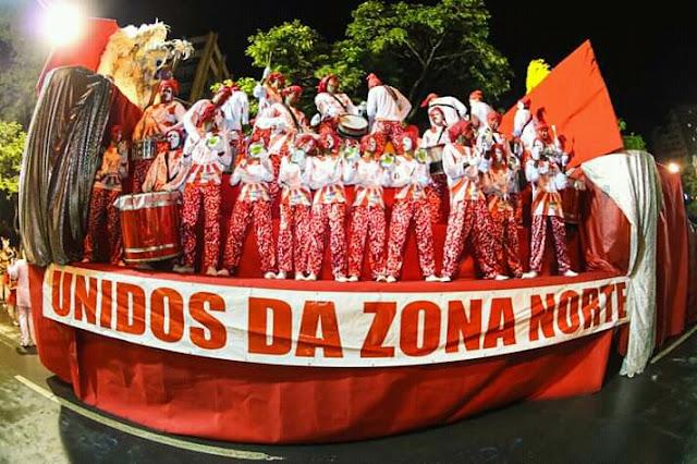 """Bloco Caricato  Unidos Da Zona Norte - já tem enredo 2019, """" História Da Construção Da Igreja Nossa Senhora Do Rosário – Betim """""""