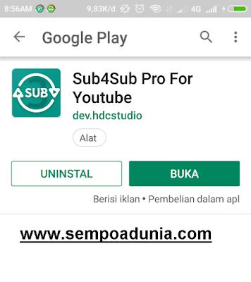 5 Langkah Cara Menambah Subscriber di Youtube Android dengan Aplikasi Sub4sub