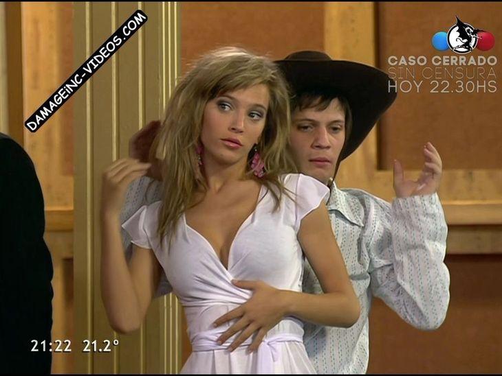 Luisana Lopilato sexy cleavage Damageinc Videos HD
