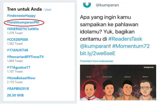 Heboh Tagar #TolakKumparanPKI di Twitter, Ternyata Ini Penyebabnya