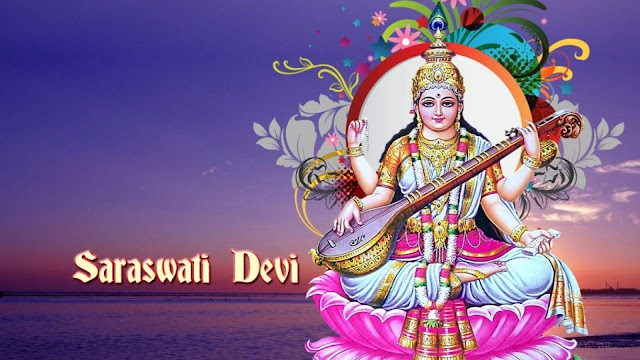 Best Maa Saraswati Puja HD Wallpaper For Your Computer