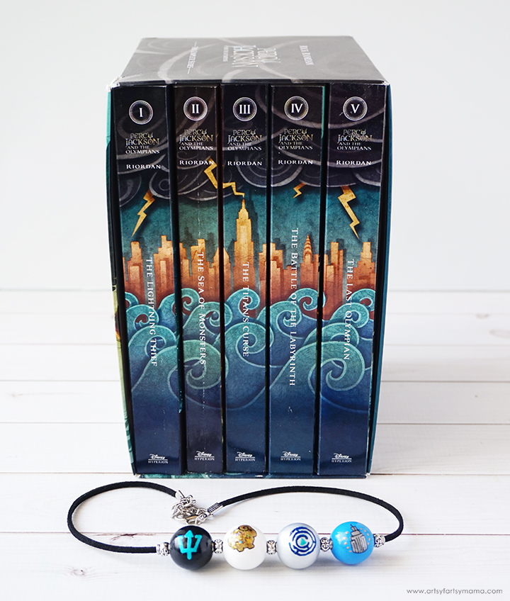 Percy Jackson Camp Half-Blood Necklace #PercyJacksonandtheOlympians