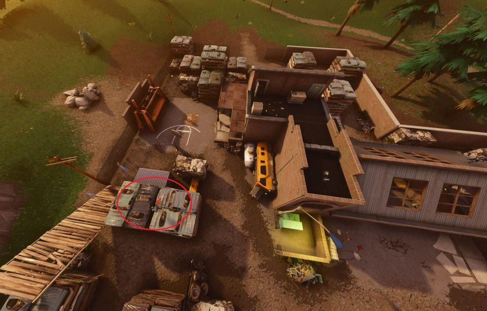 Fortnite: Battle Royale: Week 9 Challenges - Haunted Hills Treasure Map | Where To Find The Map And Where It Leads