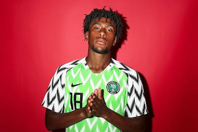 Alex Iwobi jogador mais bonito