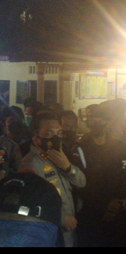Tiba di Mako Brimob Siantar, Kapoldasu Beri Keterangan Terkait Penembakan Wartawan