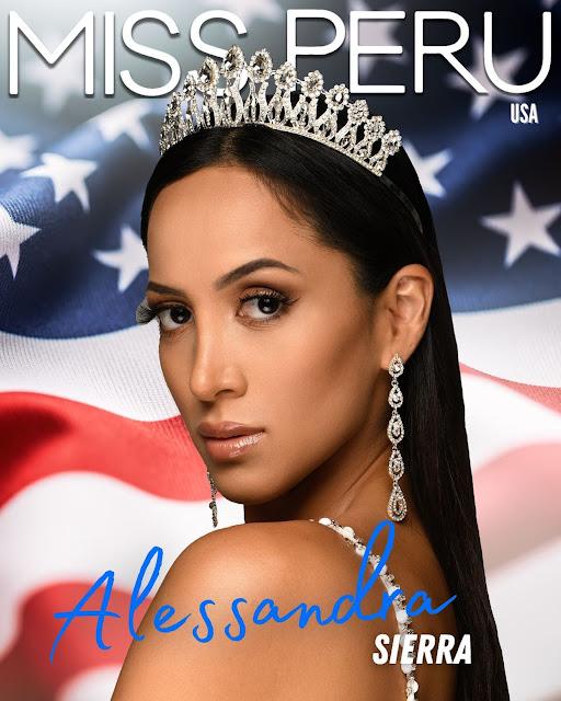 Alessandra Sierra es Miss Perú USA 2021