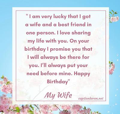 Ucapan selamat ulang tahun bahasa inggris untuk istri