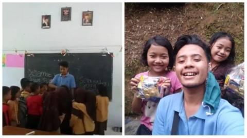 Kisah Seorang Guru Honorer di Purworejo Hidup dengan Gaji Rp 200 Ribu per Bulan