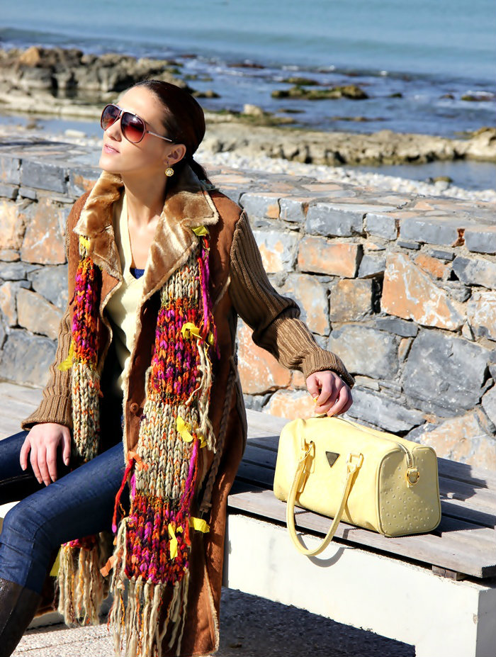 winter into spring best colorful outfit ideas