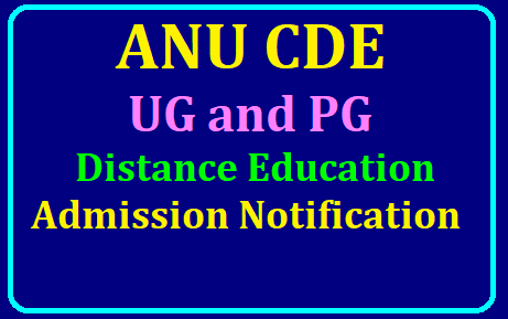 ANU CDE UG & PG Distance Education 2019-20 Admission Notification /2019/07/ANU-CDE-UG-PG-Distance-Education-2019-20-Admission-Notification.html