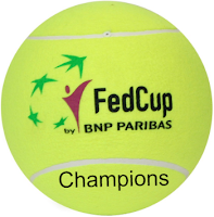 federation cup, tennis, women, world cup, champions, winners, list.