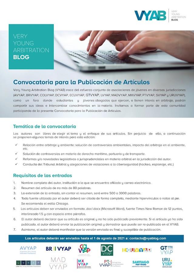 Call for papers / Convocatoria para publicación de artículos