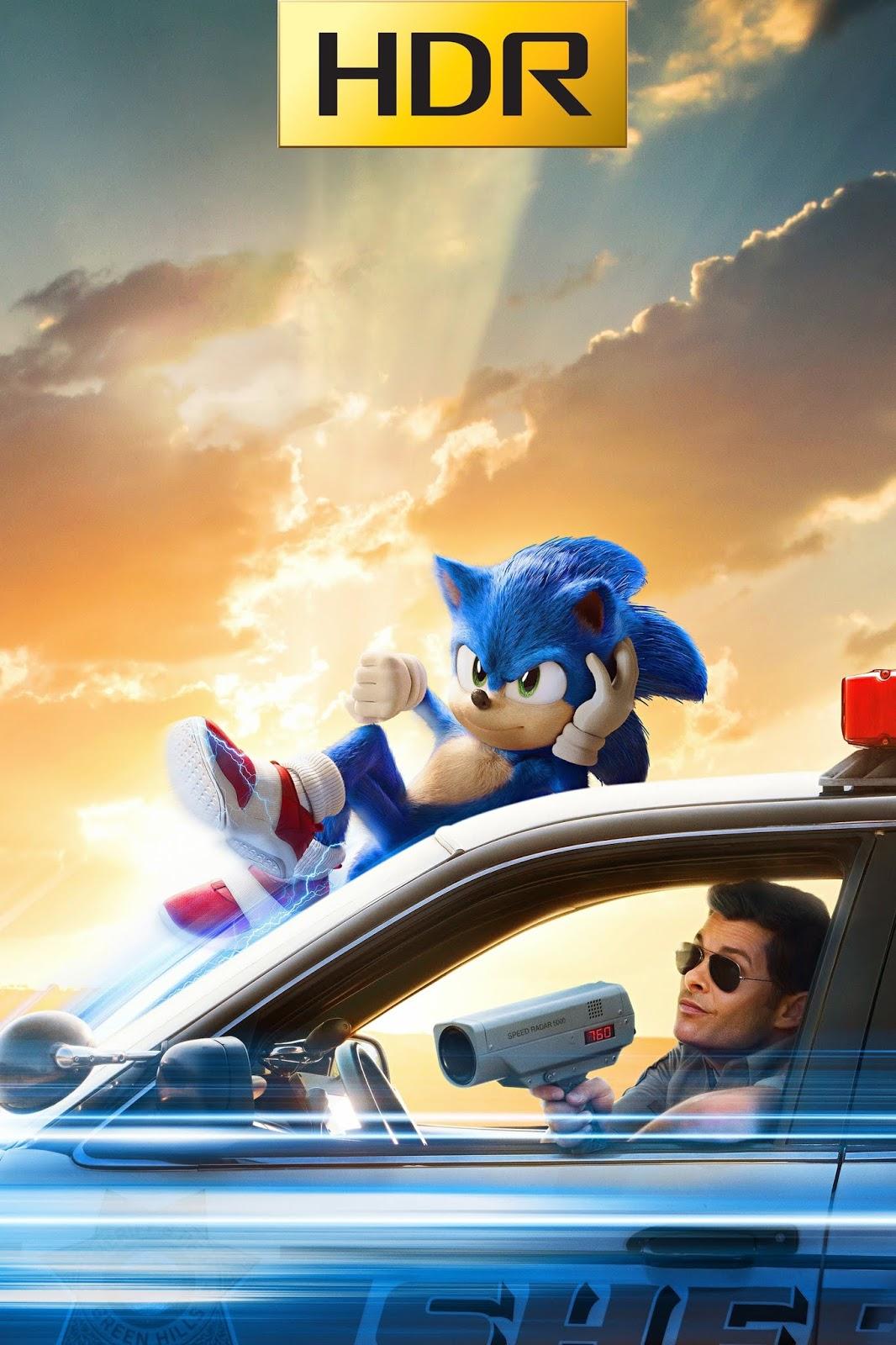 Sonic: la película (2020) 4K UHD HDR Web-DL Latino