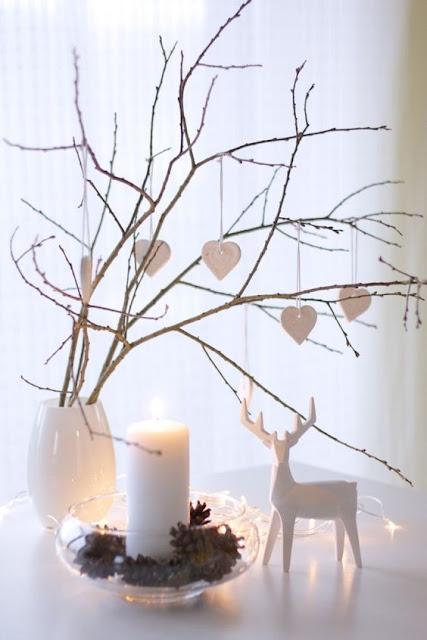 Inspiración navideña - Velas y cristal