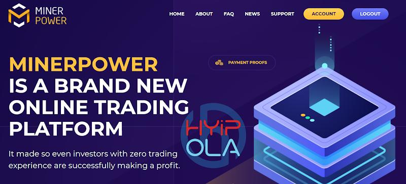 [SCAM] Review MinerPower - Dự án chiến nhanh khá tốt lãi từ 10% hằng ngày mãi mãi - Thanh toán tức thì