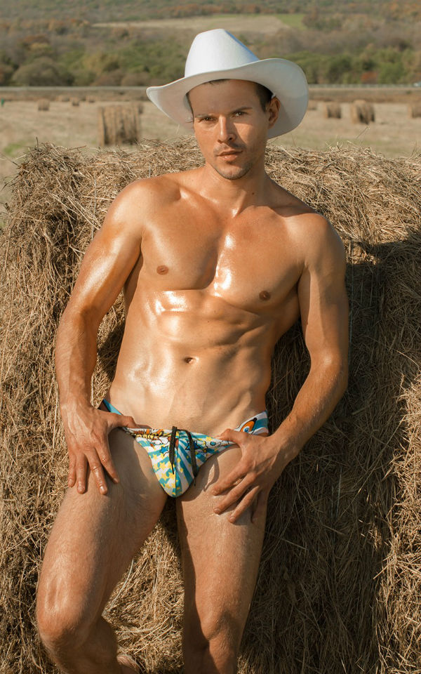 Bulge Alert: Fintess model Pavel Shestakov