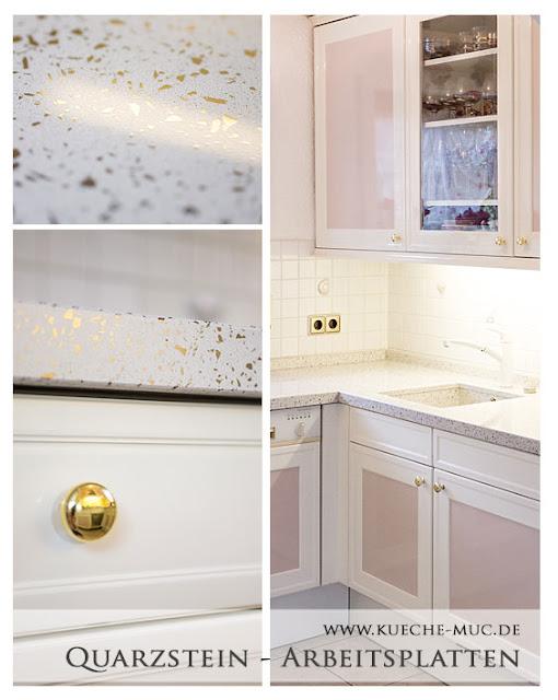 Wir renovieren ihre kuche for Quarzstein arbeitsplatte