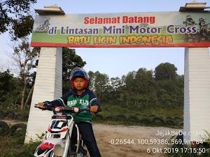 Bermain Motor Cross Mini di Wisata Bukit Kelinci Dekat Payakumbuh