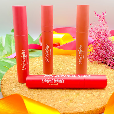 VELVET MATTE LIP MOUSSE BY WARDAH (REVIEW)