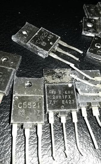 Cara mengukur Transistor Regulator TV rusak atau tidak dengan cara cepat