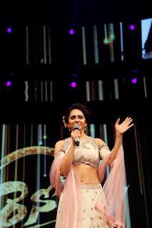 Actress Rakul Preet Singh Stills in Designer Dress at Sarrainodu Pre Release Function  0016.jpg