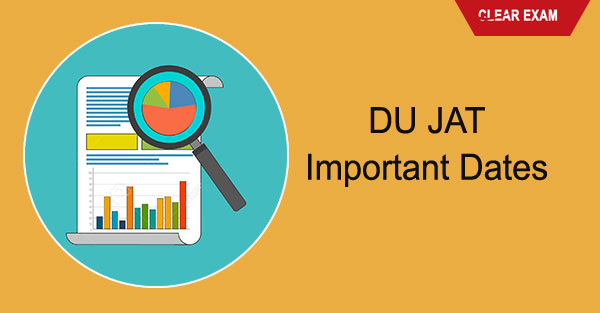 DU JAT Important Dates