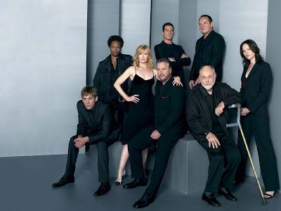 Foto dos integrantes da série CSI