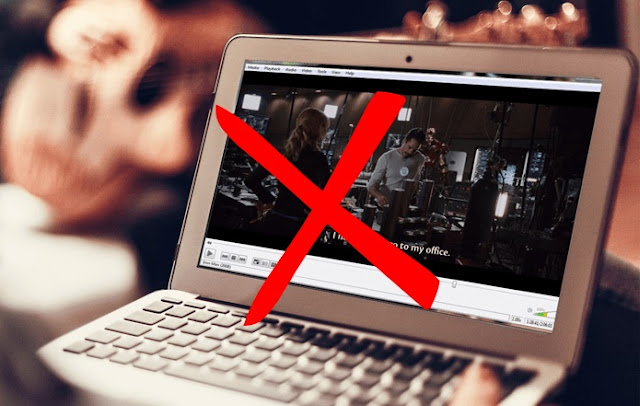 Stop using VLC Media Player on Laptop