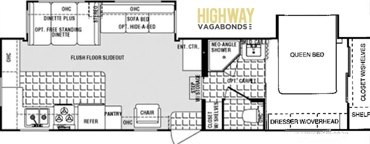 Thor Signature 30RK Floorplan