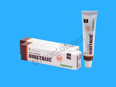 Thuốc mỡ Dibetalic của Traphaco