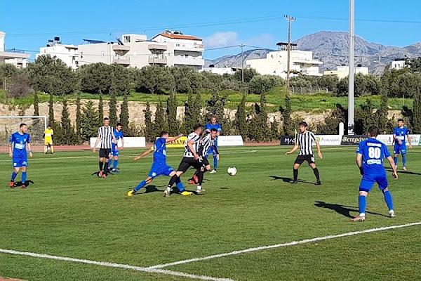 Ισοπαλία 0-0 στην Ιεράπετρα για τον Απόλλων Λάρισας