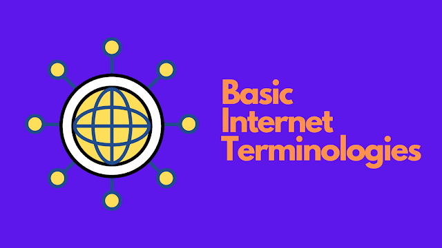 basic internet terminologies