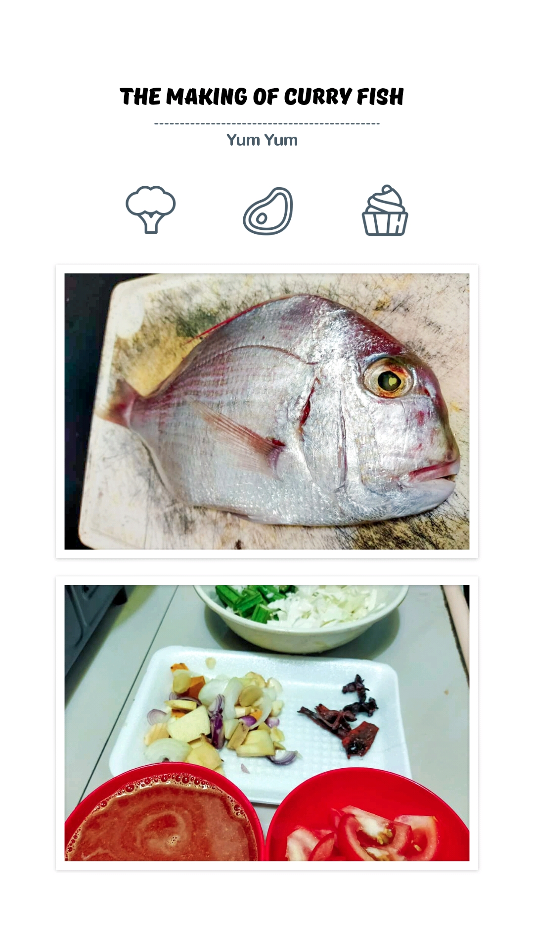 resipi ikan kari paling simple masak ringkas