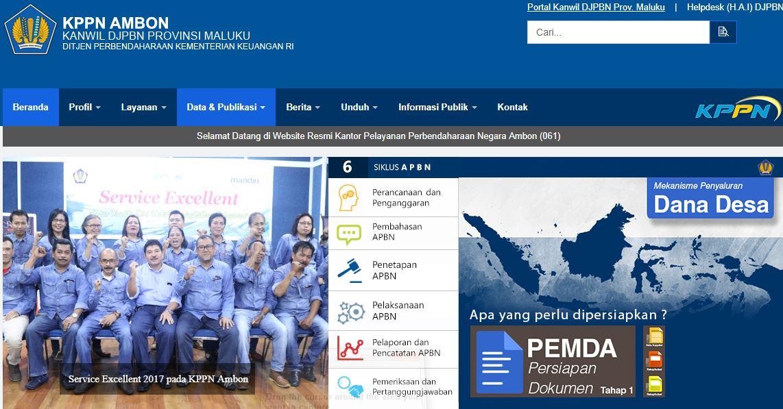 Alamat Lengkap Dan Nomor Telepon Kantor KPPN Di Maluku