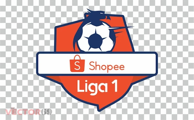 Logo Shopee Liga 1 Indonesia - Download Vector File PNG (Portable Network Graphics)