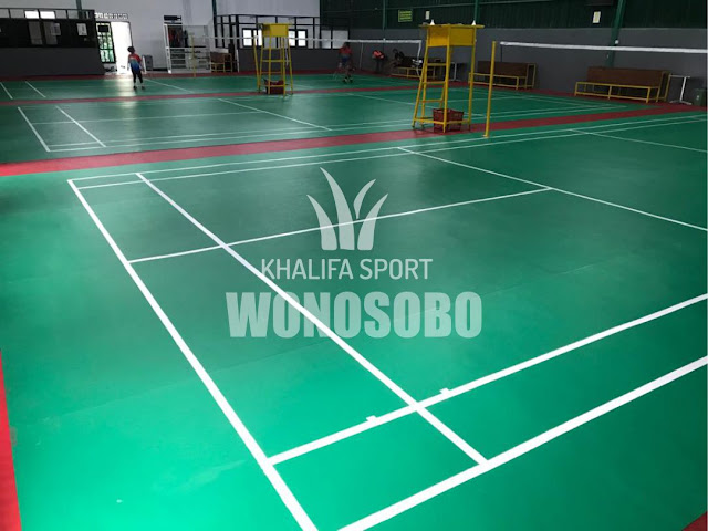 Karpet Badminton Wonosobo