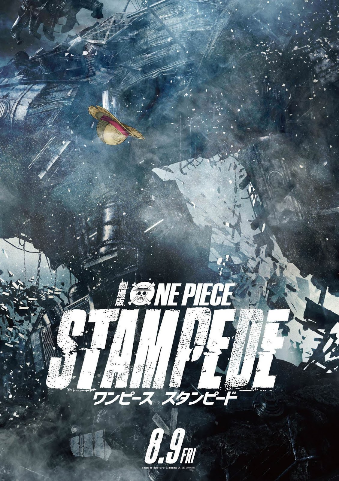 One Piece: Stampede [2020] [CUSTOM HD] [DVDR] [NTSC] [Castellano]
