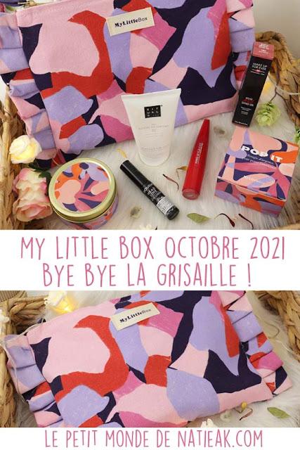 avis my little box octobre 2021 ( BON PLAN)